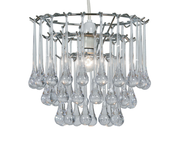 Oaks Lighting Dane Non-Electric Ceiling Pendant, Polished Chrome Finish - 135 CH