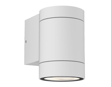 Astro Dartmouth Single Outdoor Wall Light, Textured White Finish - 1372009