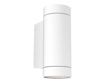 Astro Dartmouth Twin Outdoor Wall Light, Textured White Finish - 1372012