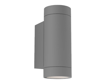 Astro Dartmouth Twin Outdoor Wall Light, Textured Grey Finish - 1372013