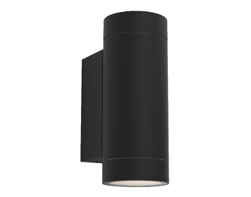 Astro Dartmouth Twin Outdoor Wall Light, Textured Black Finish - 1372014