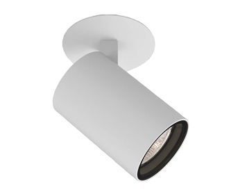 Astro Aqua Recessed Spotlight, Matt White Finish - 1393007