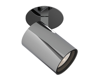 Astro Aqua Recessed Spotlight, Polished Chrome Finish - 1393008