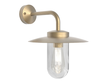 Astro Portree Wall Light, Natural Brass Finish - 1400001