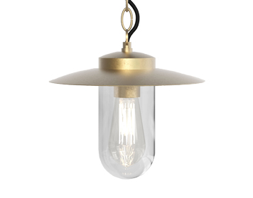 Astro Portree Pendant Light, Natural Brass Finish - 1400002