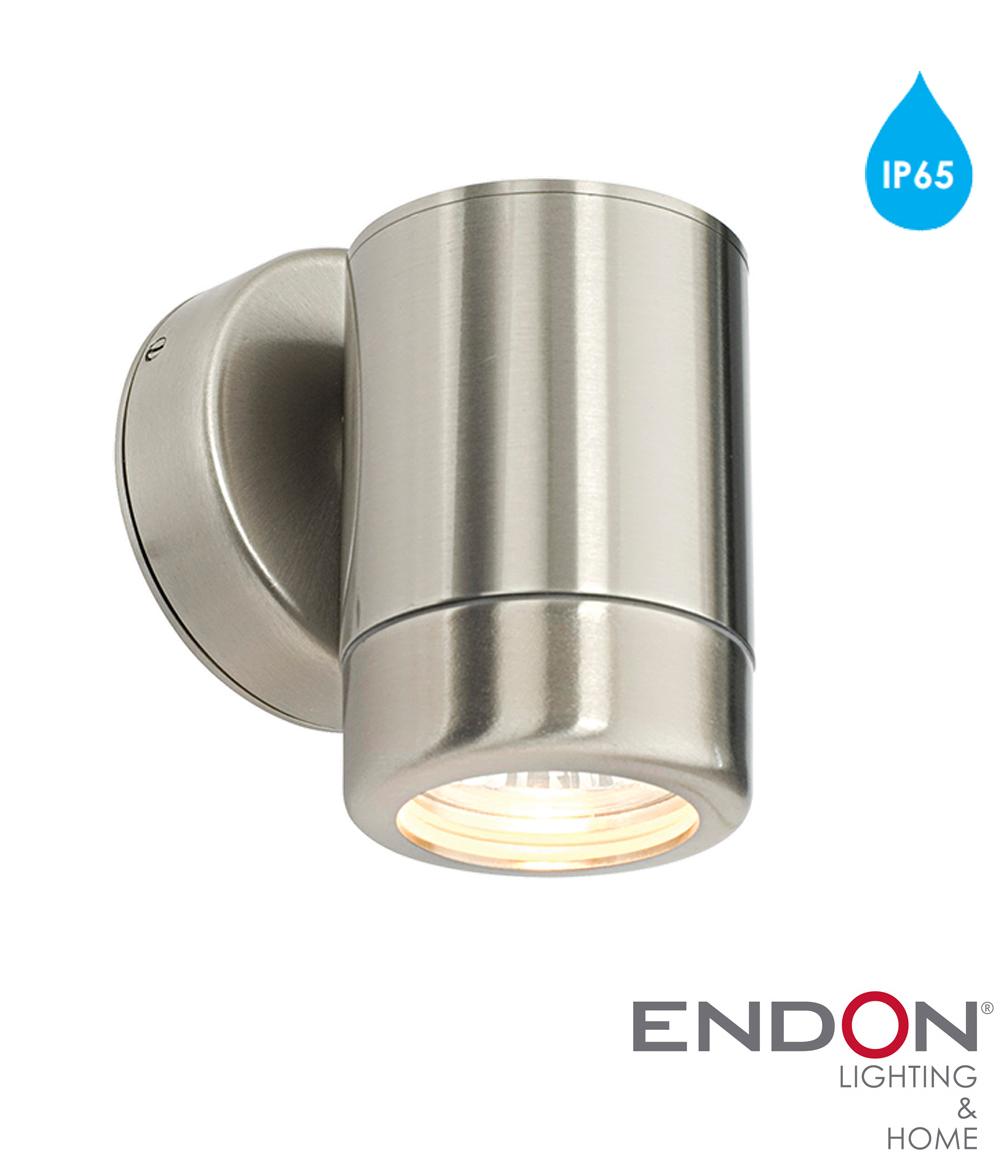 Endon 'Atlantis' IP65 1 Light Outdoor Wall Light, Marine