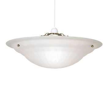 Oaks Lighting Mita Large Non-Electric Ceiling Pendant, Antique Brass Finish - 146 L AB
