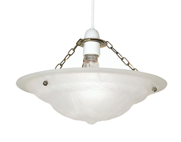 Oaks Lighting Mita Small Non-Electric Ceiling Pendant, Antique Brass Finish - 146 S AB