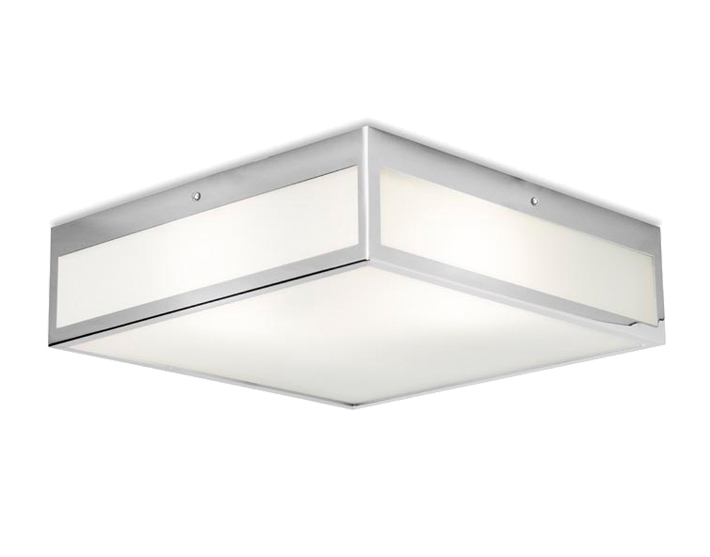 Square flush bathroom ceiling lights from easy lighting leds c4 flow 3 light 300mm x 300mm bathroom ceiling light ip44 mozeypictures Choice Image