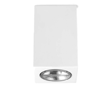 Leds C4 Ges Surface Mounted Square Ceiling Light, White Finish - 15-5948-14-00