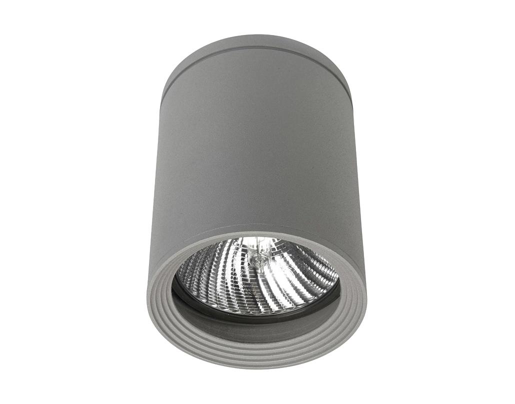 Leds C4 39 Selene 39 Ip54 Gu 10 Outdoor Ceiling Light Grey