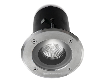 Leds C4 Gea GU10 & GU5.3 Outdoor Recessed Ceiling Downlight, Polished Stainless Steel AISI316 Finish - 15-9708-CA-37
