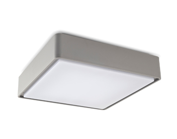 Leds C4 Kossel Outdoor Ceiling Light (220mm), Grey Finish - 15-9778-34-CLV1