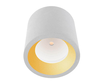 Leds C4 Cosmos Outdoor Ceiling Light, White Finish - 15-9790-14-CL