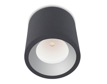 Leds C4 Cosmos Outdoor Ceiling Light, Urban Grey Finish - 15-9790-Z5-CL