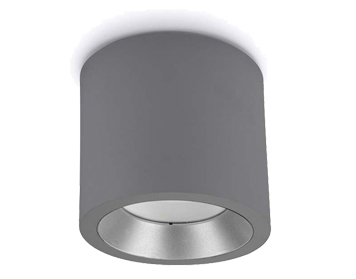 Leds C4 Cosmos Outdoor Ceiling Light, Grey Finish - 15-9904-34-CL