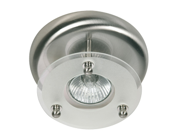 Oaks Lighting Surface Downlight, Antique Chrome Finish - 177/1 AC