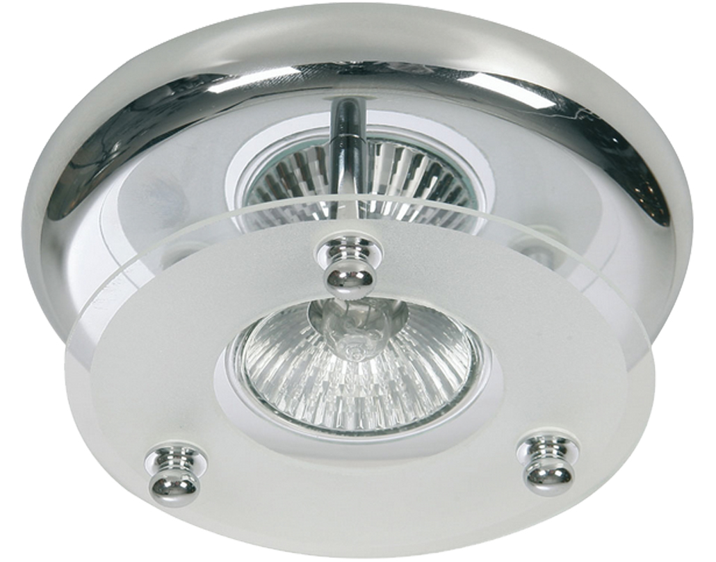 Oaks Lighting Surface Downlight, Polished Chrome Finish - 177/1 CH