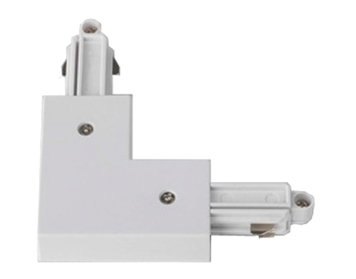 Astro Track 90° Right Corner Connector, White Finish - 1994