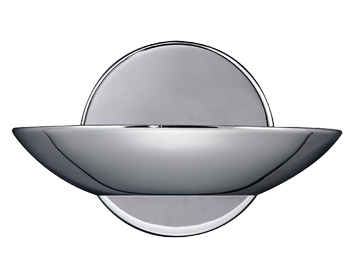 Searchlight Metal Halogen Wall Light, Polished Chrome - 2107CC