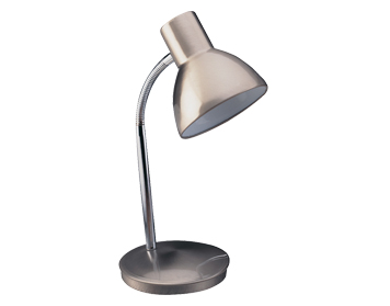 Firstlight Harvard Table Lamp, Brushed Steel Finish - 2163BS