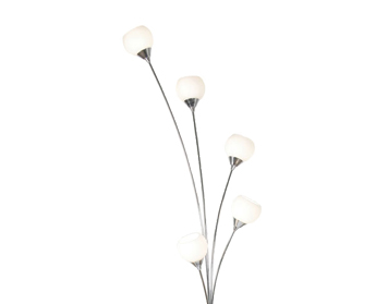 Oaks Lighting Manzano Floor Lamp, Chrome Finish - 2181/5 FL CH