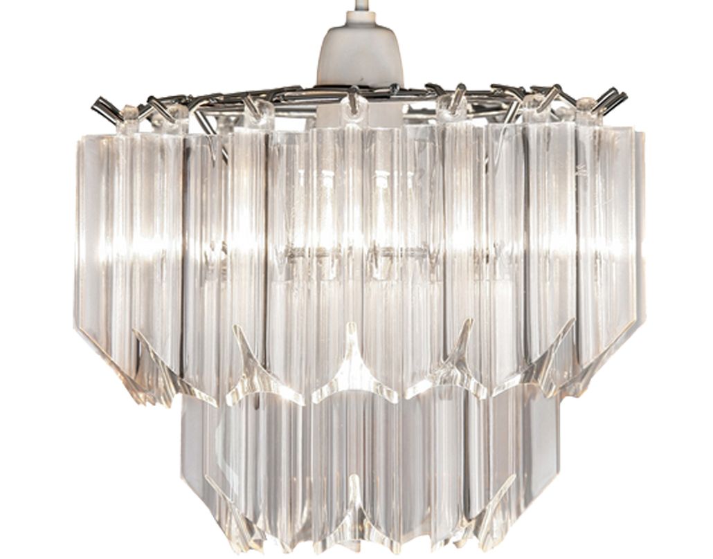 Oaks Lighting 'Acrylic' Non-Electric Ceiling Pendant, Clear Acrylic - 229 NE