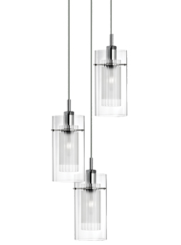 Searchlight duo single switched wall light polished chrome 2300 searchlight duo 3 light pendant ceiling light polished chrome 2300 3 aloadofball Choice Image