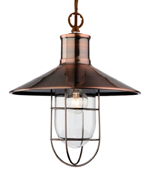 Firstlight - Fisherman Wall Light, Cream With Clear Glass - 8686CR from Easy Lighting