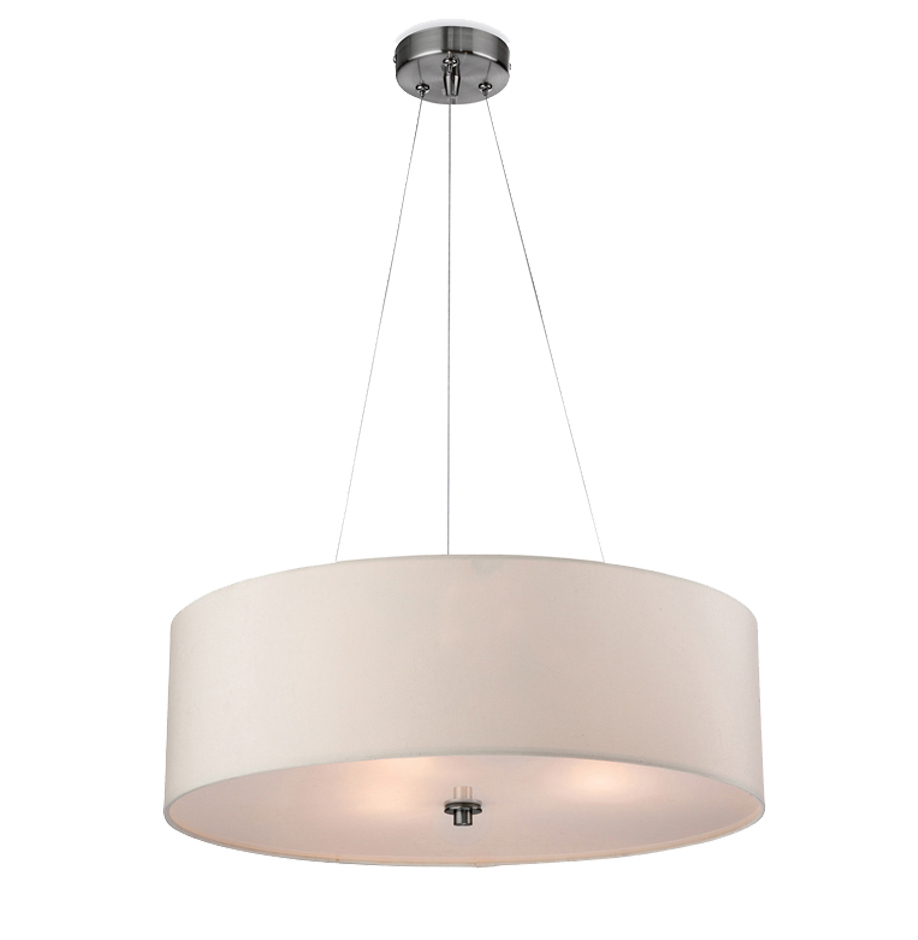 Bathroom Light Fixtures Phoenix firstlight 'phoenix' fabric pendant ceiling light, cream - 2314cr