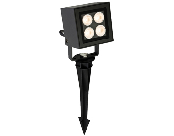 Firstlight LED Outdoor Wall Or Spike Spotlight, Graphite Finish - 2336GP