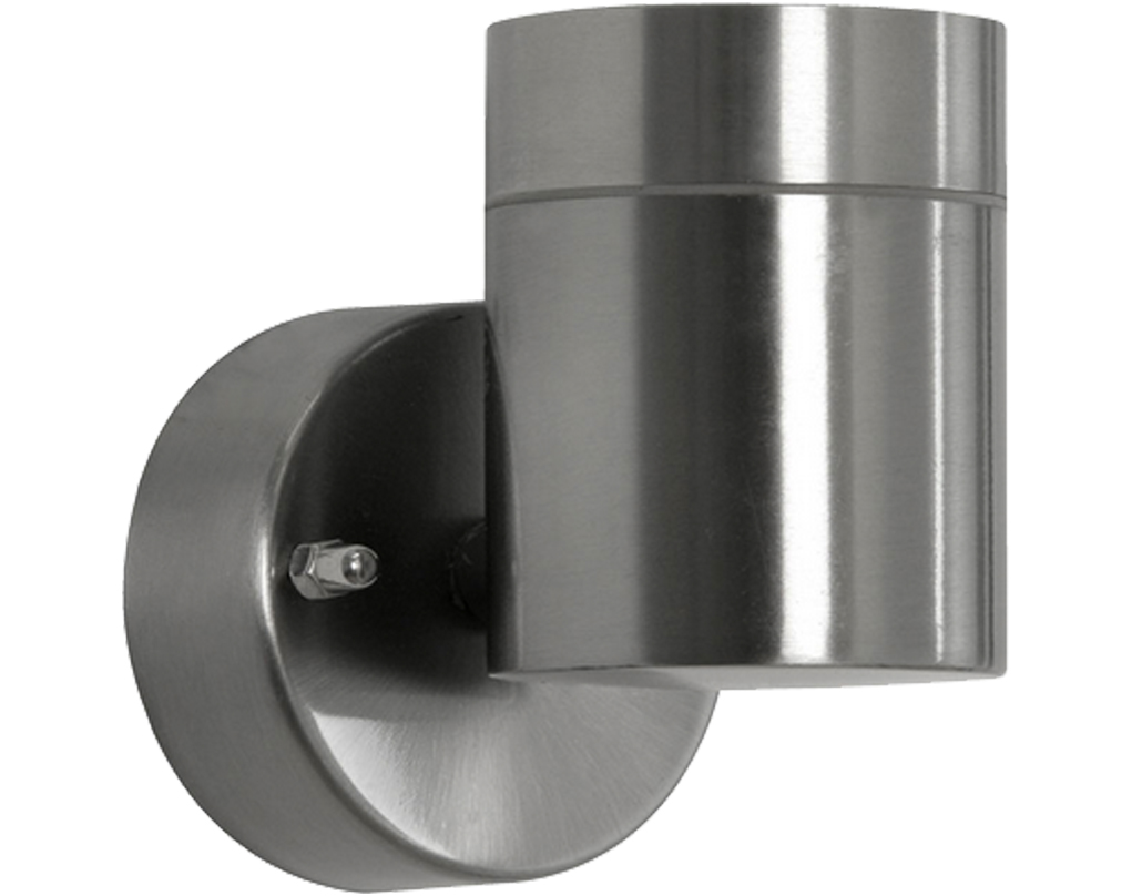 Stainless steel outdoor wall lights from easy lighting oaks lighting carson ip44 exterior wall light stainless steel 2401 aloadofball Gallery