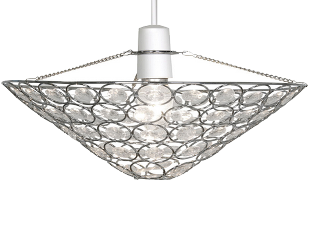 Oaks Lighting 'Kendal' Non-Electric Ceiling Pendant, Polished Chrome - 246 CH