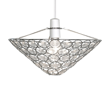 Oaks Lighting Kendal Non-Electric Ceiling Pendant, Polished Chrome Finish - 246 CH