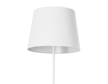 Leds C4 Michigan Floor Lamp, Bright White Finish, Base Only - 25-2757-14-82