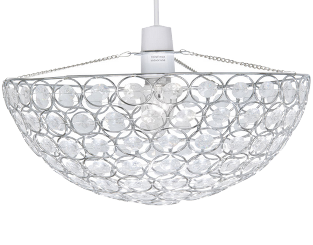 Oaks Lighting 'Kendal' Non-Electric Ceiling Pendant, Polished Chrome - 257 CH