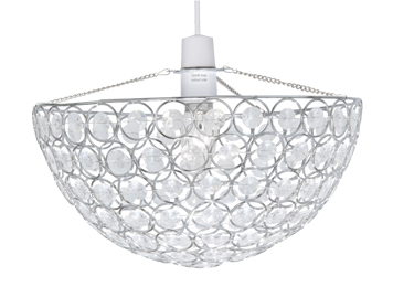Oaks Lighting Kendal Non-Electric Ceiling Pendant, Polished Chrome Finish - 257 CH