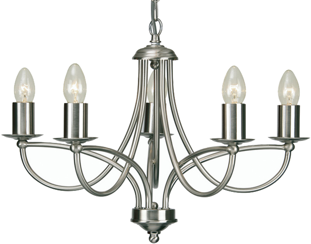 Ceiling lights 4 and 5 arm from easy lighting oaks lighting loop 5 light ceiling light antique chrome 27115 aloadofball Image collections