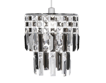 Oaks Lighting Maia Non-Electric Ceiling Pendant, Smoked Finish - 2801 SM