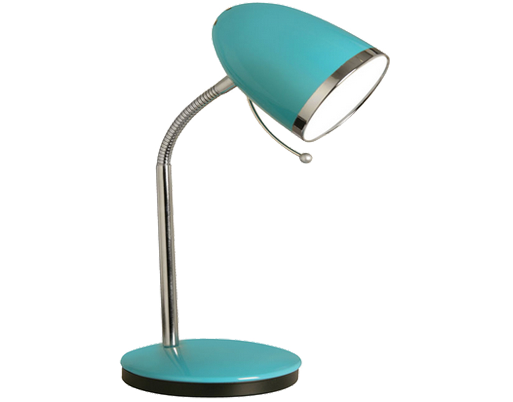 Oaks Lighting Madison Table Lamp, Blue - 2819 TL BL