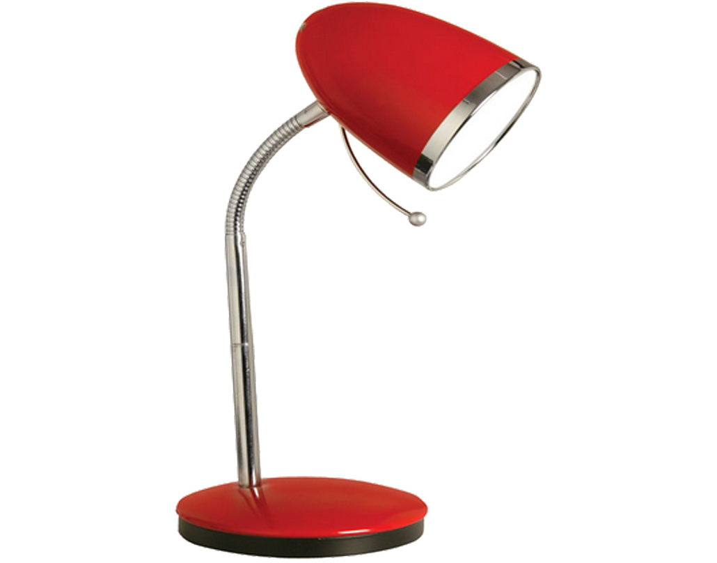 Reading lamps and desk lamps from easy lighting oaks lighting madison table lamp red 2819 tl rd aloadofball Choice Image