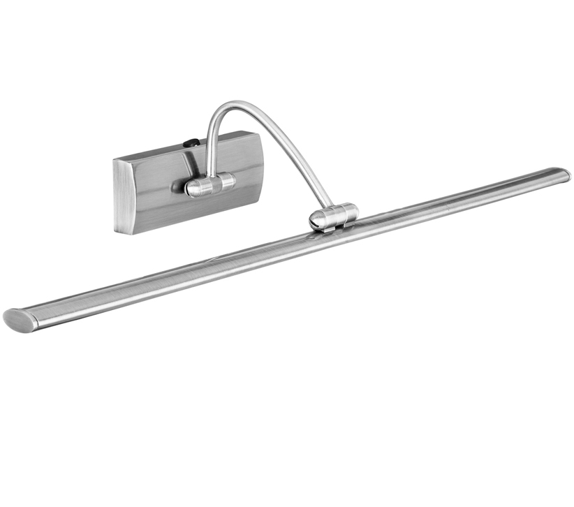 Searchlight Switched LED Picture Wall Light, Satin Silver Finish - 2984-51SS None