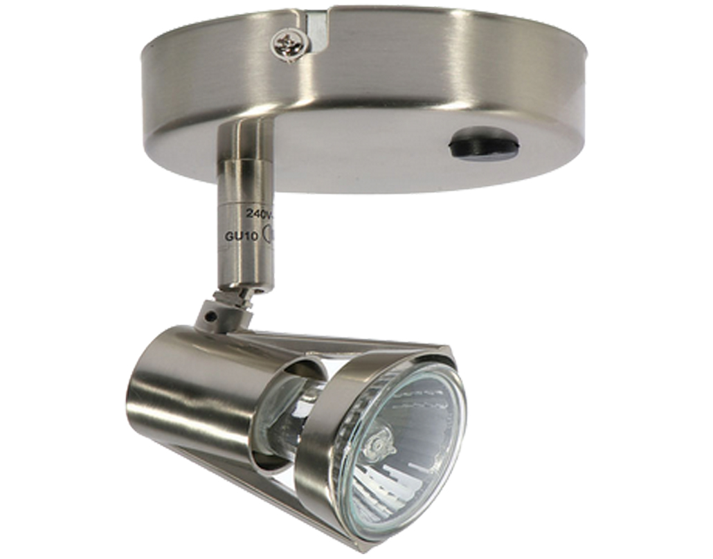 Oaks Lighting 'Romore' Switched Ceiling Spotlight, Antique Chrome - 3101 SW AC