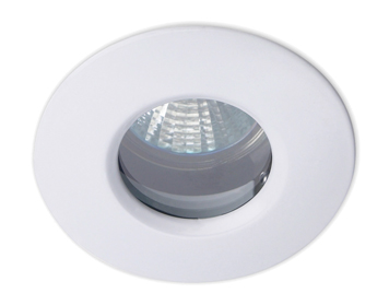 Leds C4 Split 12V Recessed Ceiling Downlight, White Finish - 320-BL