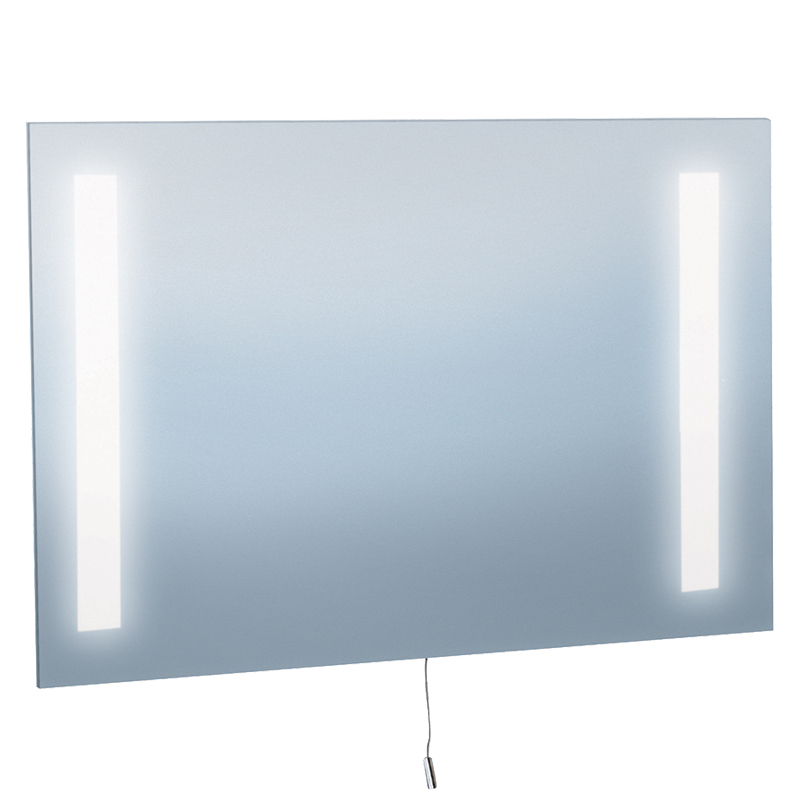 Searchlight Illuminated Bathroom Mirror