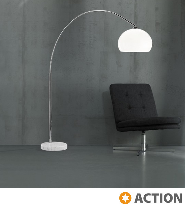 Action bow 1 light switched floor lamp chrome 329401010000 from action bow 1 light switched floor lamp chrome 329401010000 none aloadofball Images