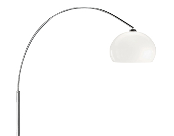 action 1 light switched floor lamp chrome