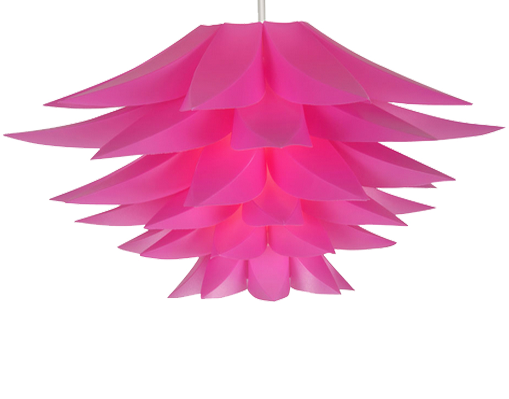Oaks Lighting 'Lokura' Non-Electric Ceiling Pendant, Pink - 330 PI