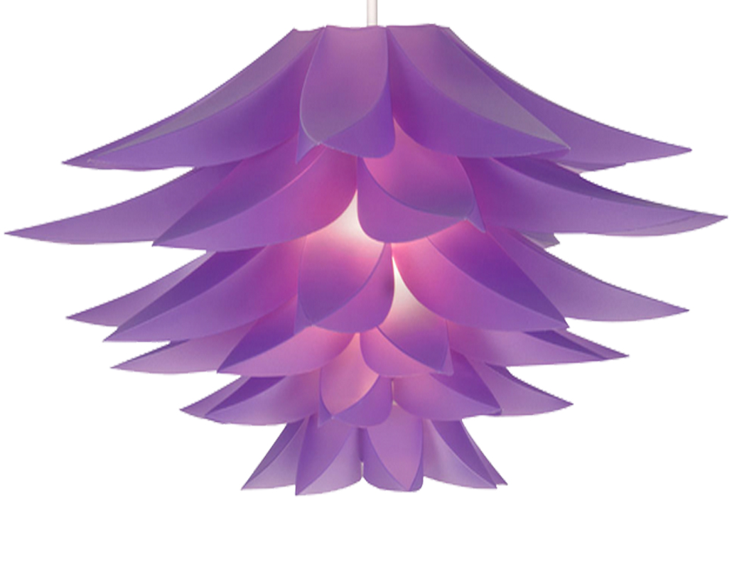 Oaks Lighting 'Lokura' Non-Electric Ceiling Pendant, Plum - 330 PL