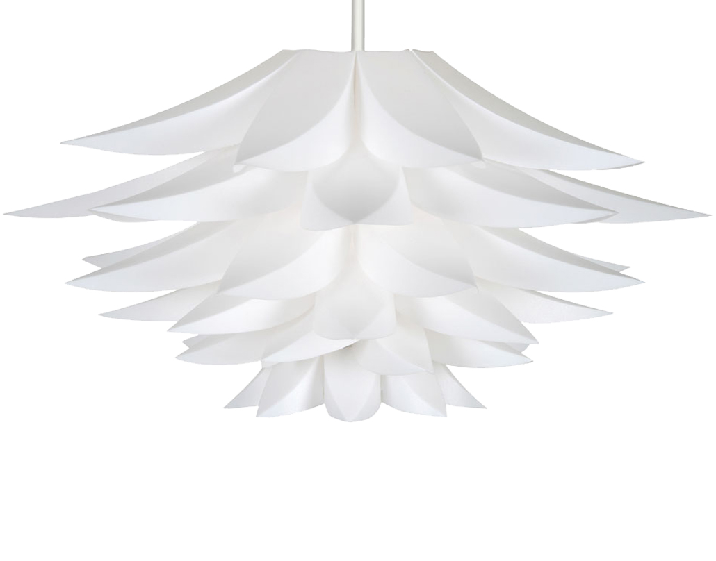 Oaks Lighting 'Lokura' Non-Electric Ceiling Pendant, White - 330 WH